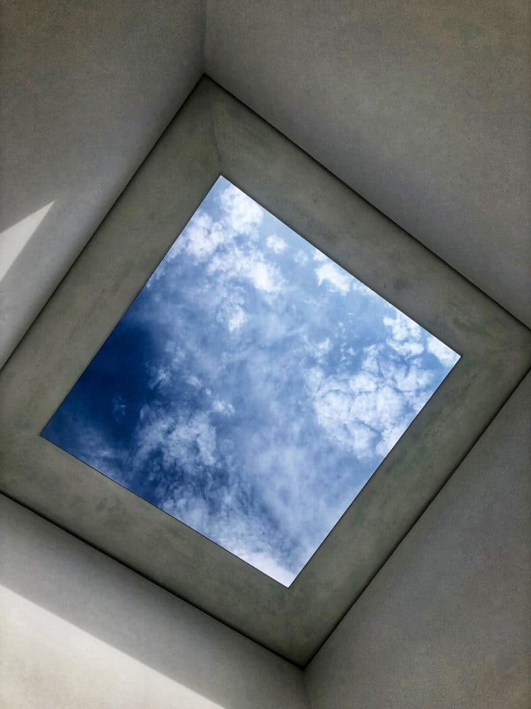 """Sky Space I"" di James Turrell a Villa Panza"