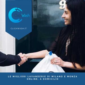 lavanderia a domicilio a Milano