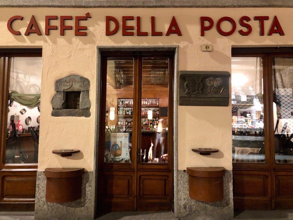 Weekend a Courmayeur: Caffè della Posta