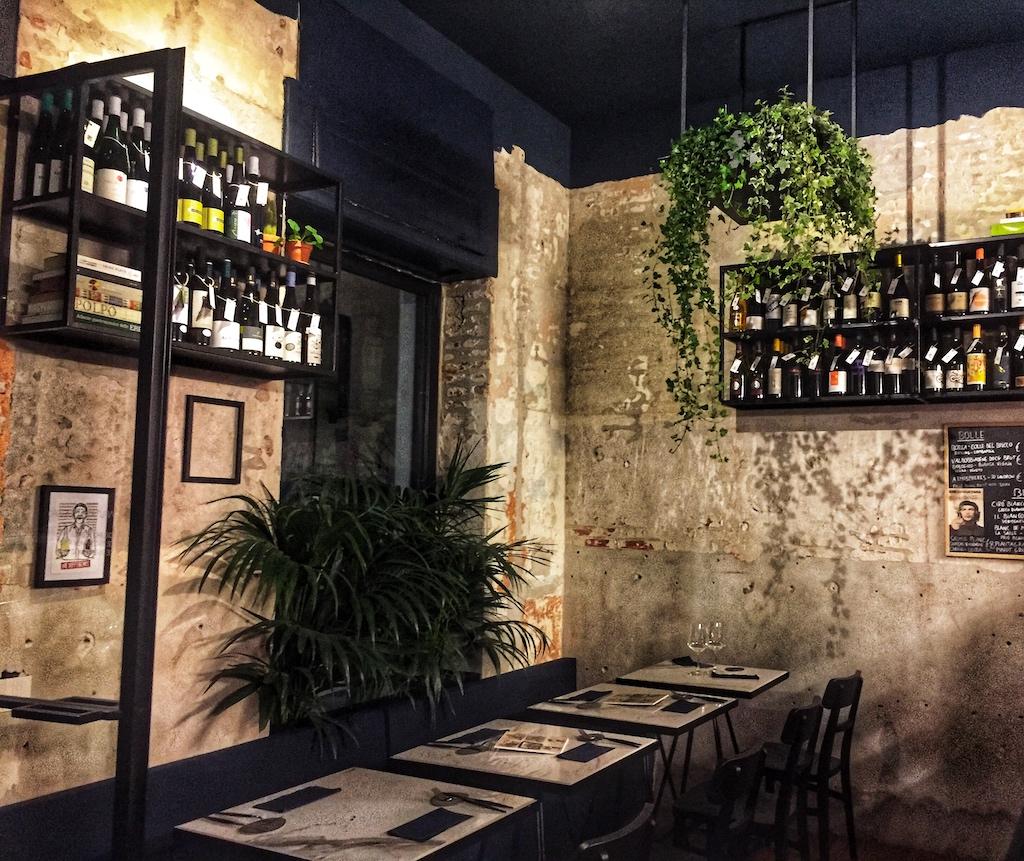 Enoteche nuove a Milano - Onest, l'interno