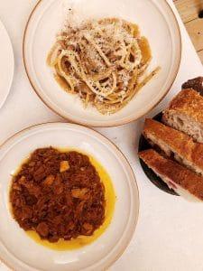 La scarpetta e lo spaghetto alla poraccia