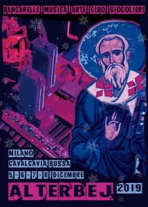 Mercatini di Natale a Milano: Alterbej 2019, locandina