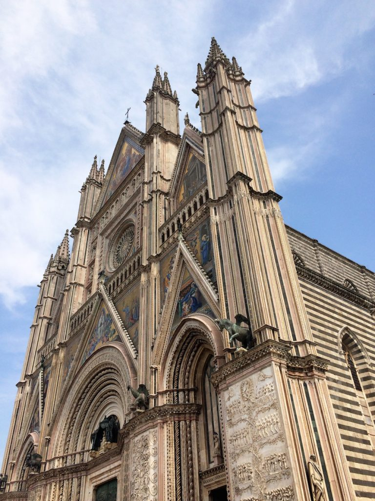 Umbria on the road: Duomo di Orvieto