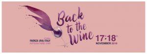 Eventi del vino: Back to the Wine