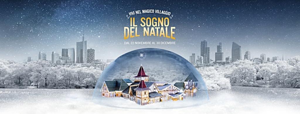 Mercatini di Natale a Milano: Il Sogno del Natale, locandina
