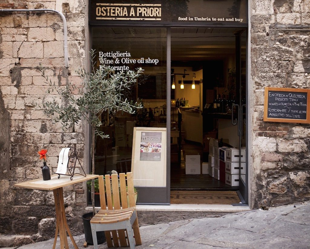 Umbria on the road: Osteria a Priori, Perugia