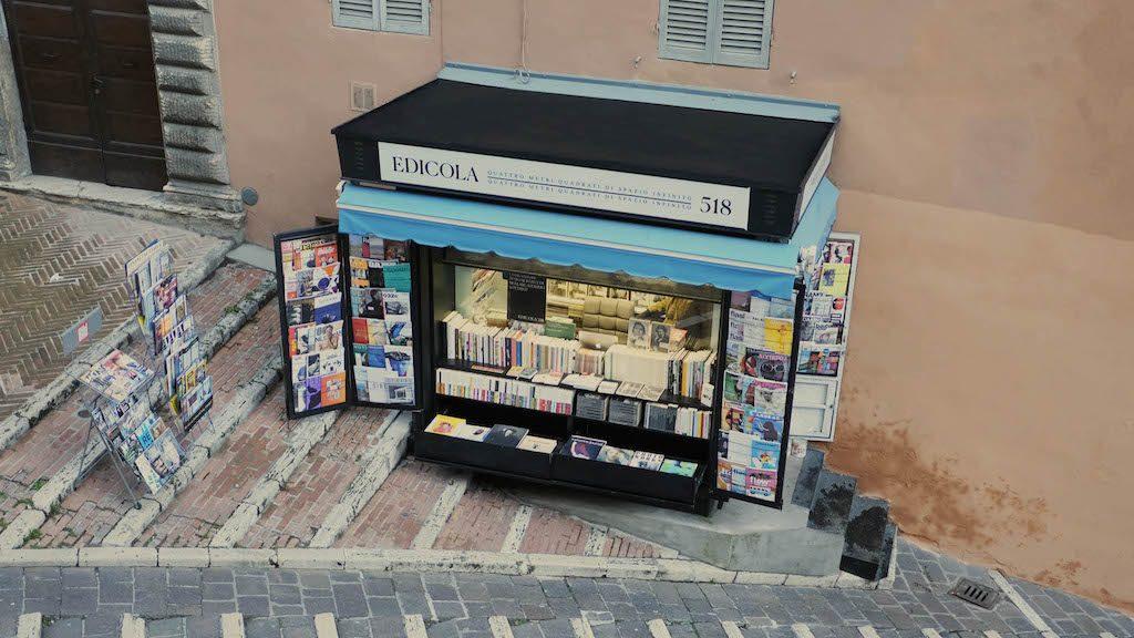 Umbria on the road: Edicola 518, Perugia