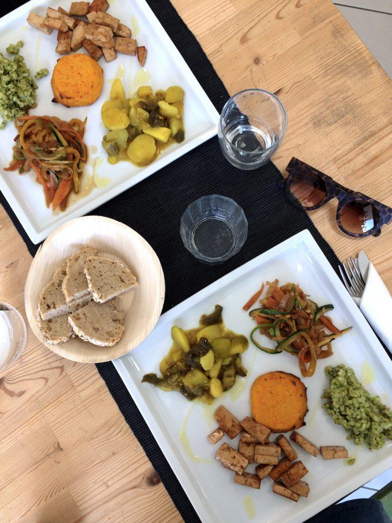 Umbria on the road: pranzo vegano da Il Biologico a Spoleto