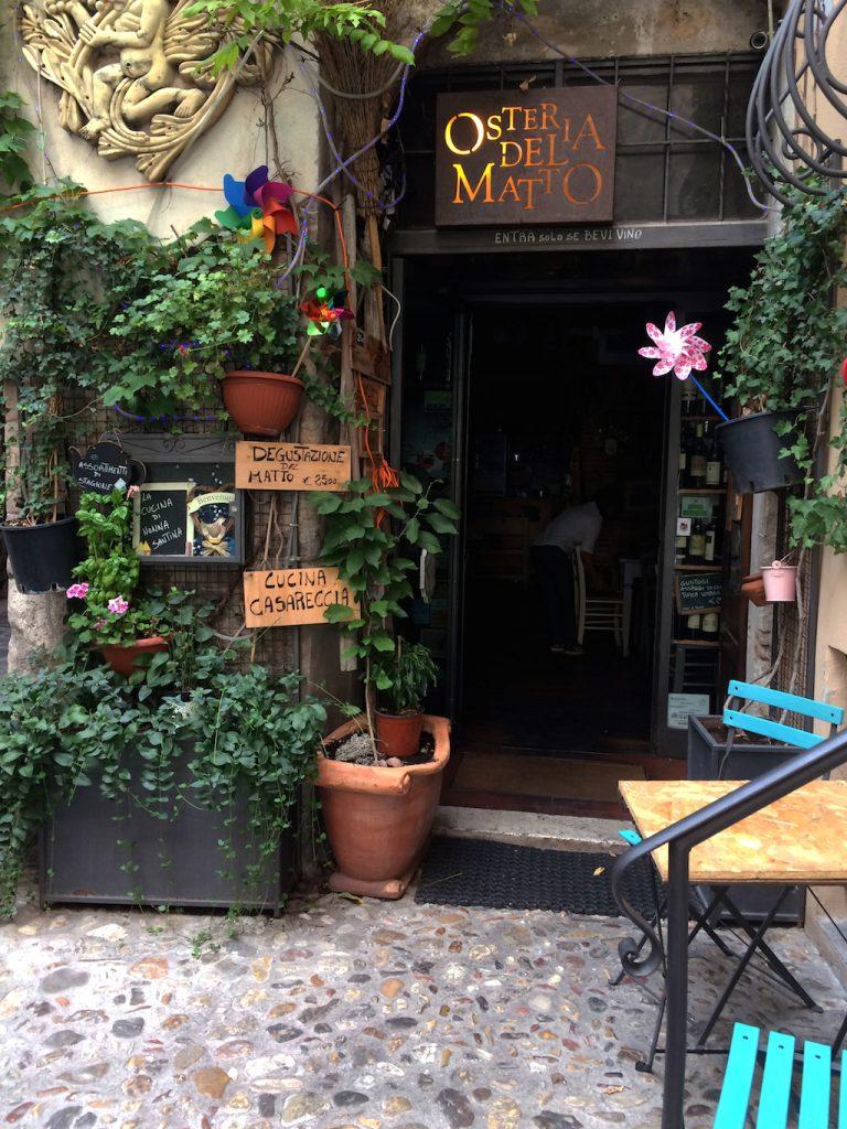 Umbria on the road: Osteria del Matto, Spoleto