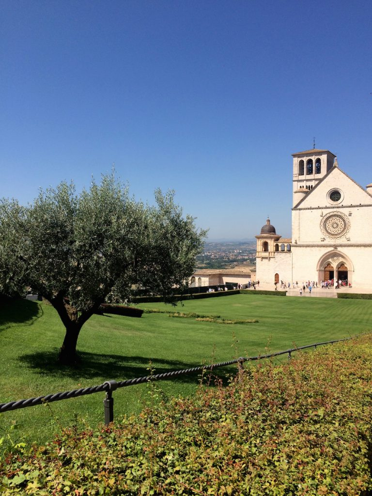 Umbria on the road: Assisi