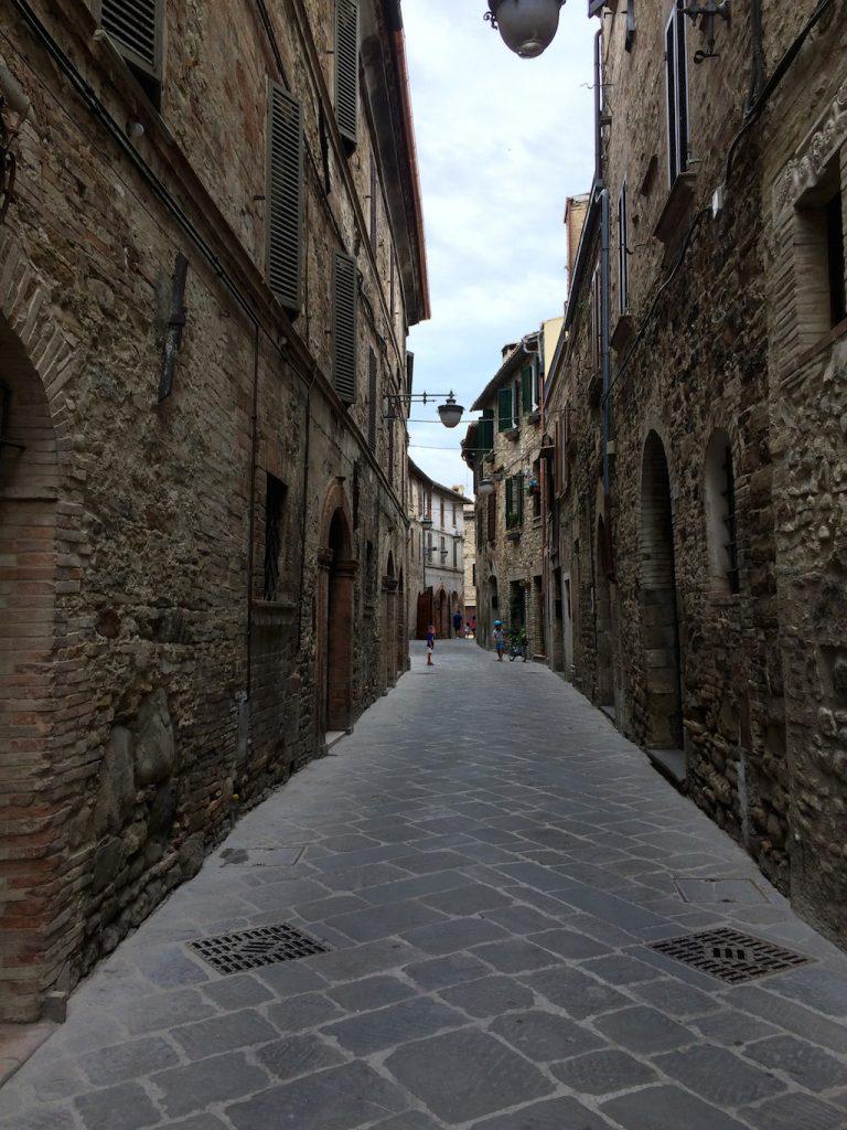 Umbria on the road: Bevagna