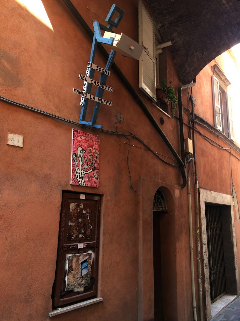 Umbria on the road: Perugia, Via della Viola
