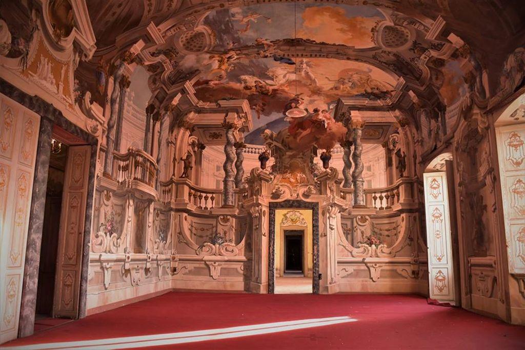 Villa Arconati-FAR, piano Nobile