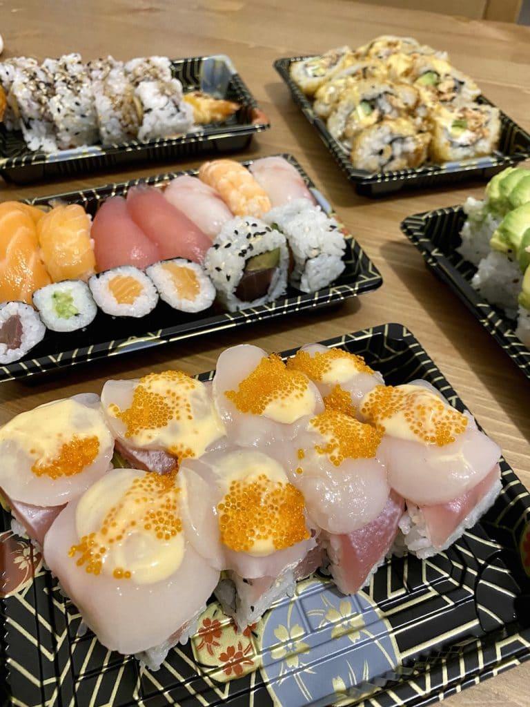Sushi a domicilio a Milano: Haruka