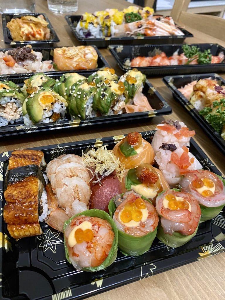 Sushi a domicilio a Milano: Kisen