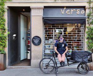 Libri a domicilio a Milano: l'iniziativa #versopedala