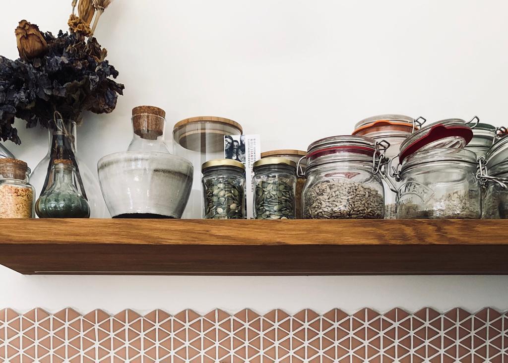 Trucchi in cucina: i barattoli