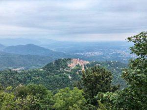 Passeggiate in Lombardia nella natura: il Parco Regionale Campo dei Fiori visto dal Grand Hotel