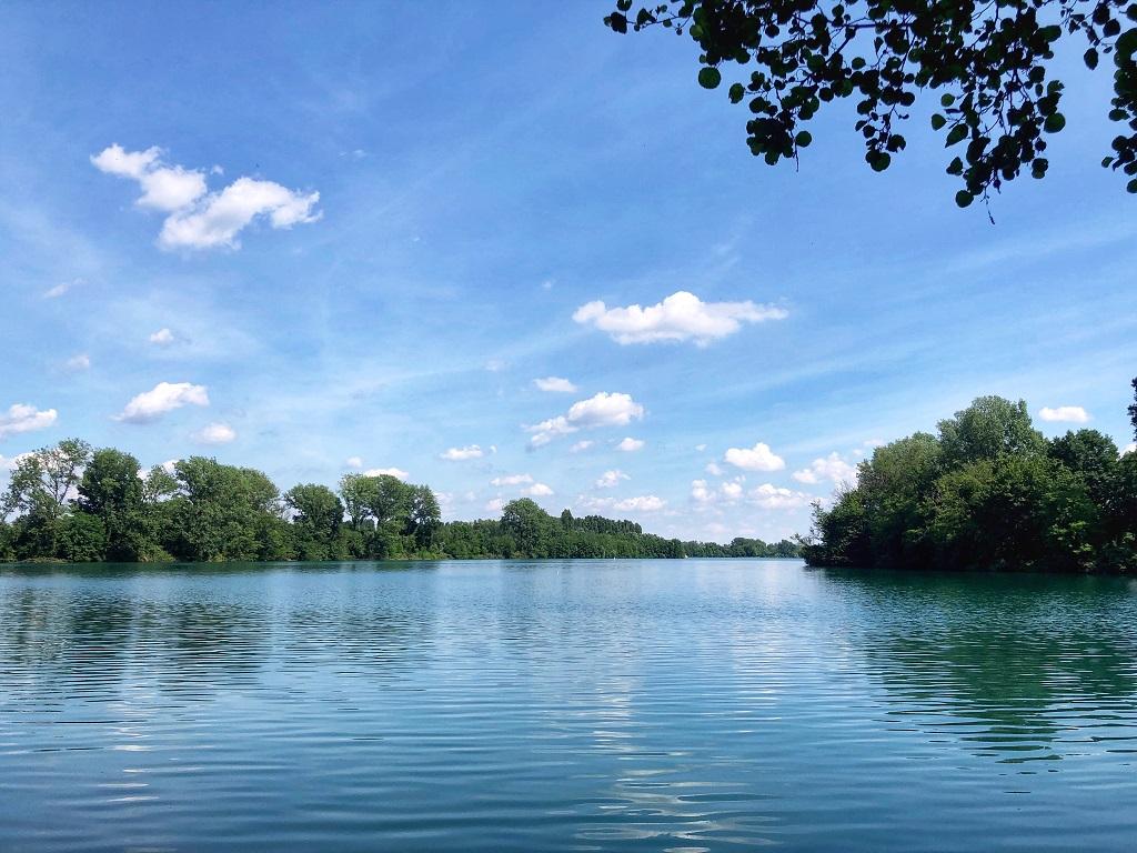 Passeggiate in Lombardia nella natura: Lago Boscaccio nel Pargo Agricolo Milano Sud