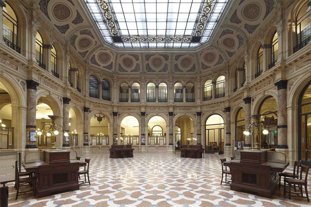 La sede delle Gallerie d'Italia di Piazza della Scala