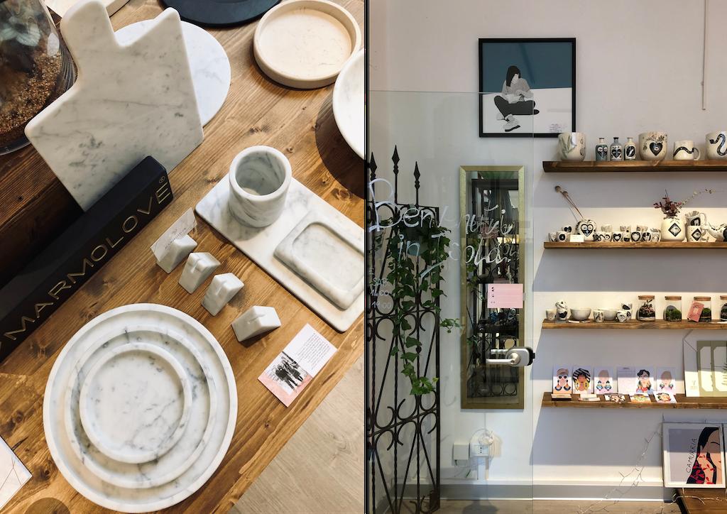 Brand artigianali di oggetti per la casa: Isola Lab Concept Store