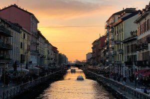 Navigli - Milano in zona gialla