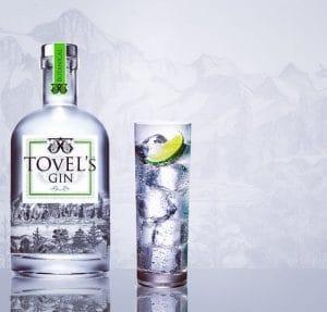 Gin italiani artigianali: Tovels Gin