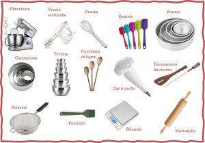 Dolci fatti in casa: strumenti