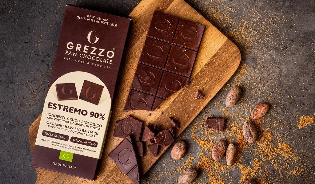 Cioccolato artigianale: Grezzo Raw Chocolate