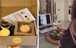 Festeggiare un compleanno in casa: delivery cena