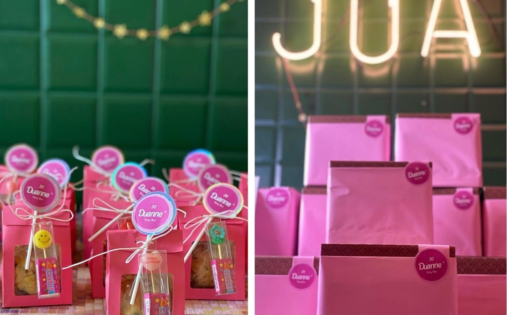 Idee festa: party boxes Jua