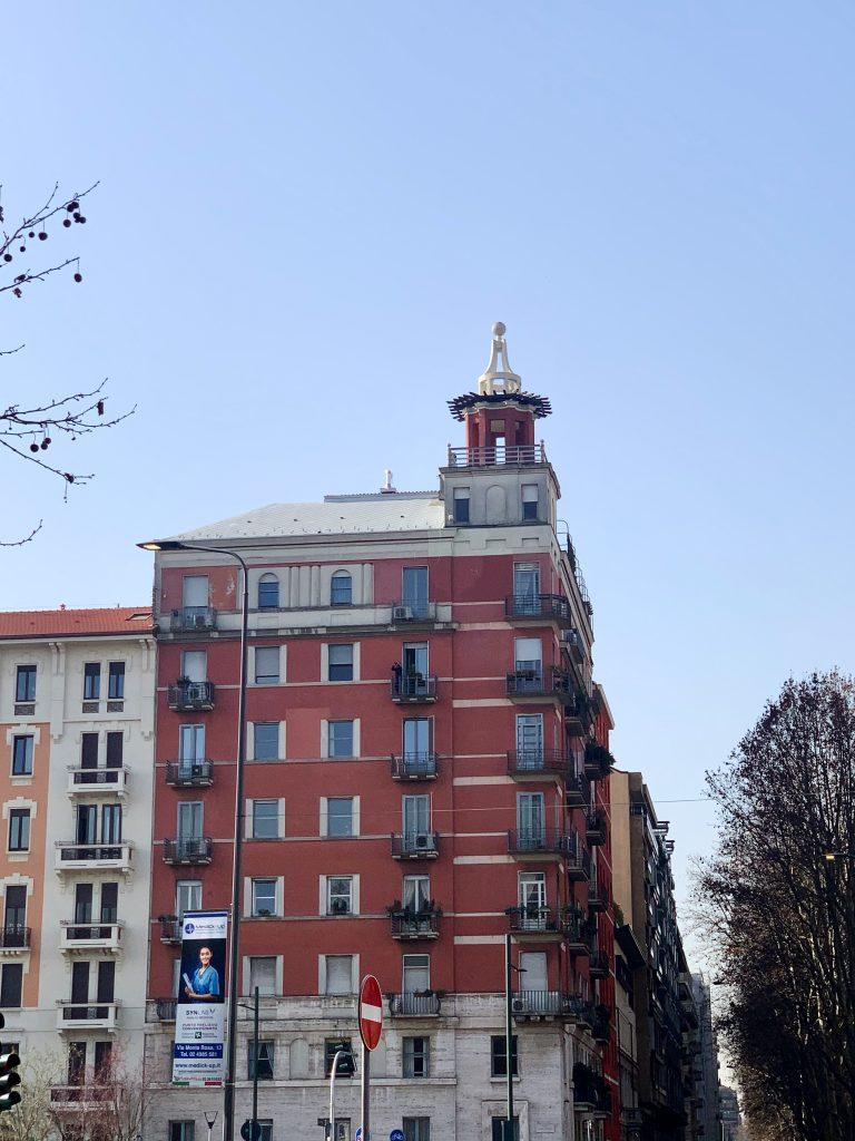 Palazzo di Gio Ponti in Via Domenichino