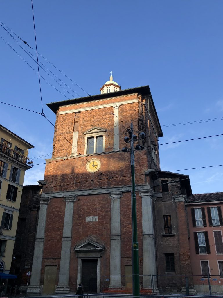 Milano a piedi: San Nazaro in Brolo