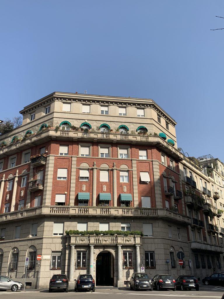 palazzi in Via Monte Bianco