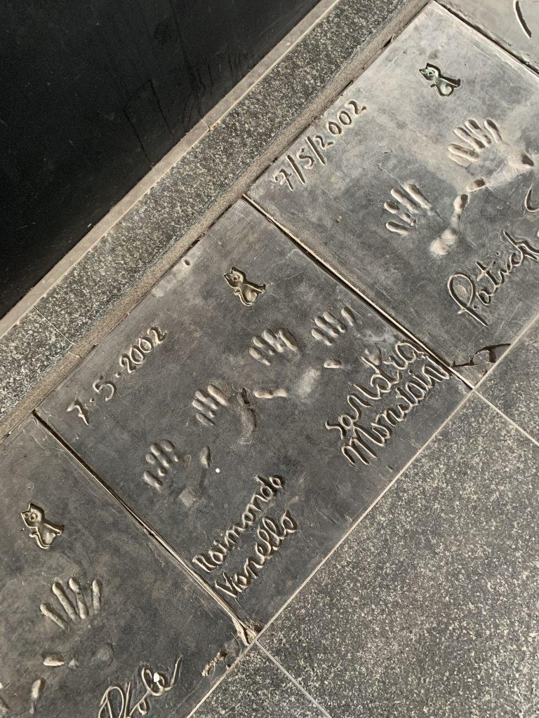 Milano a piedi: Walk of Fame