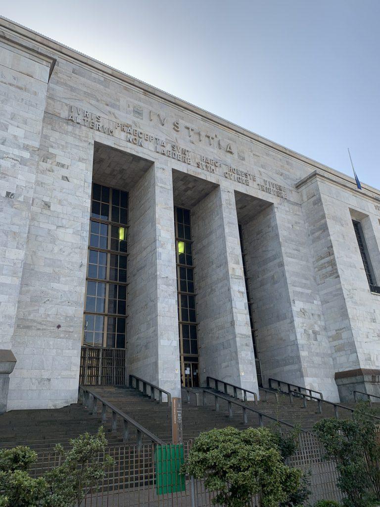 Milano a piedi: Palazzo di Giustizia