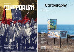 Regali per la Festa della Mamma: riviste Cineforum e Cartography