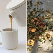 Regali per la Festa della Mamma: Set in ceramica Giulia Valentino Ceramics e tisana Giusmìn Tea Lab Milano