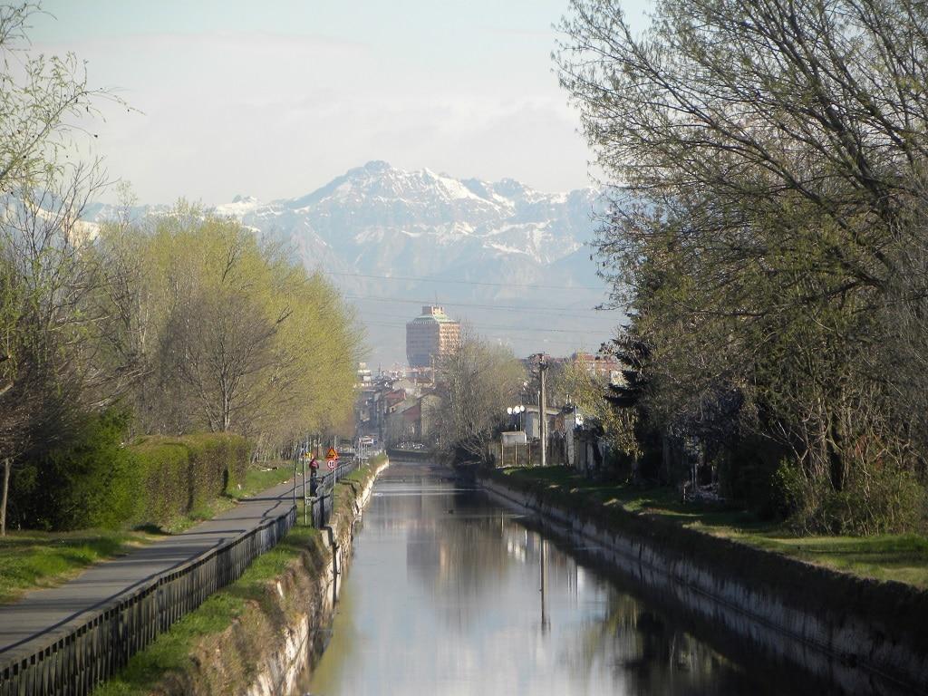 Milano in bici: Naviglio Pavese