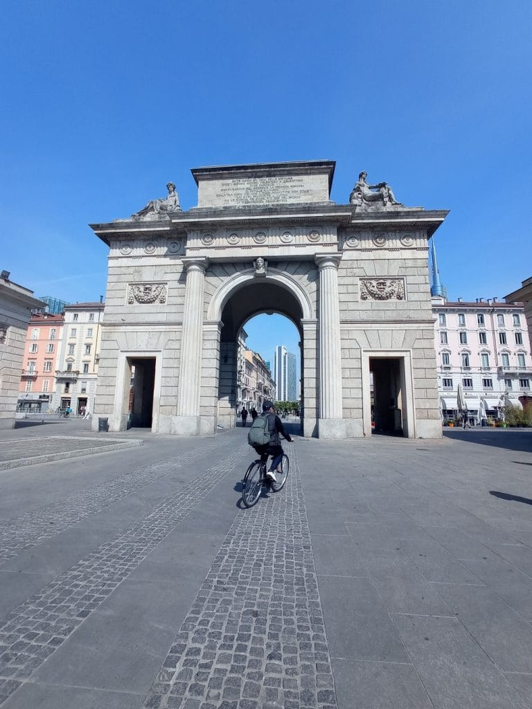 Piste ciclabili: Porta Garibaldi