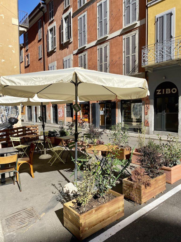 Ristoranti con dehor a Milano: Zibo