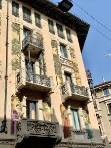 Tour di Porta Venezia a Piedi: Casa Galimberti