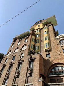Tour di Milano a piedi: Palazzo Fidia