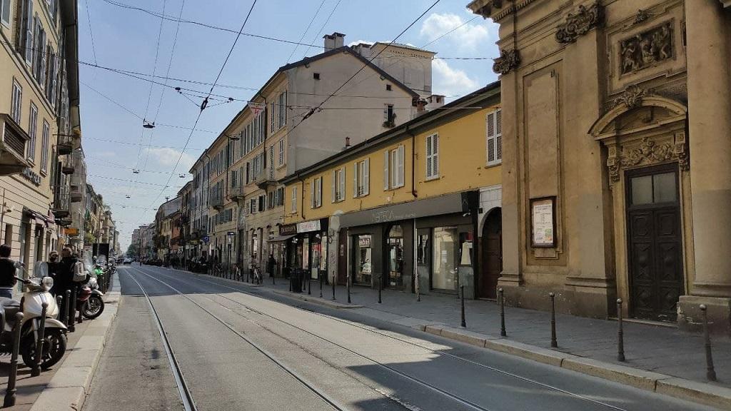 Vie di Milano: Corso San Gottardo