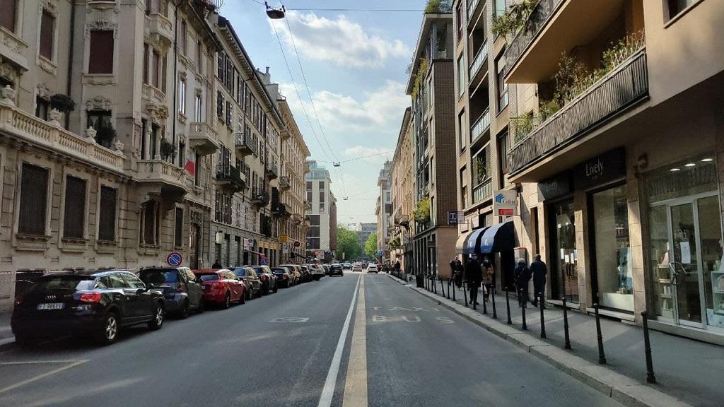 Odonomastica: Via della Moscova