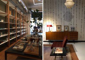 Negozi di design a Milano: Tenoha e L'Arabesque