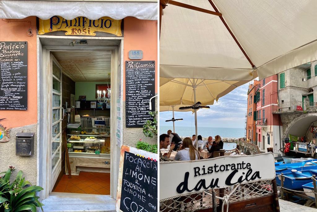 dove mangiare a Riomaggiore in Liguria