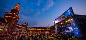cinema e teatri all'aperto milano: Estate Sforzesca