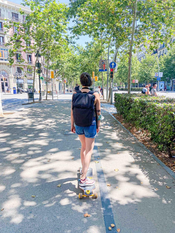 Idee per sentirsi in vacanza: skateboard