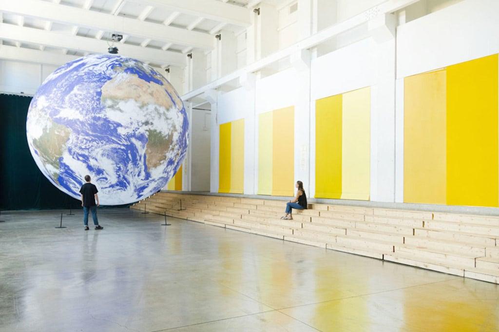 Fuorisalone 2021: Gaia by Luke Jerram